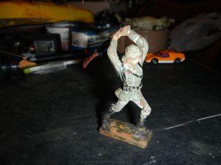 Dachbodenfund Lineol Soldat Bild