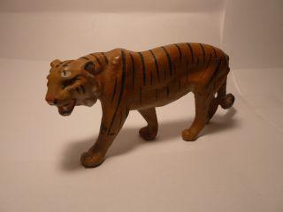Massefigur Raubkatze Tiger Nicht Gemarkt Schönes Stück Bild