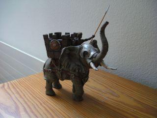 Barthel Kriegselefant Zu Elastolin. Bild