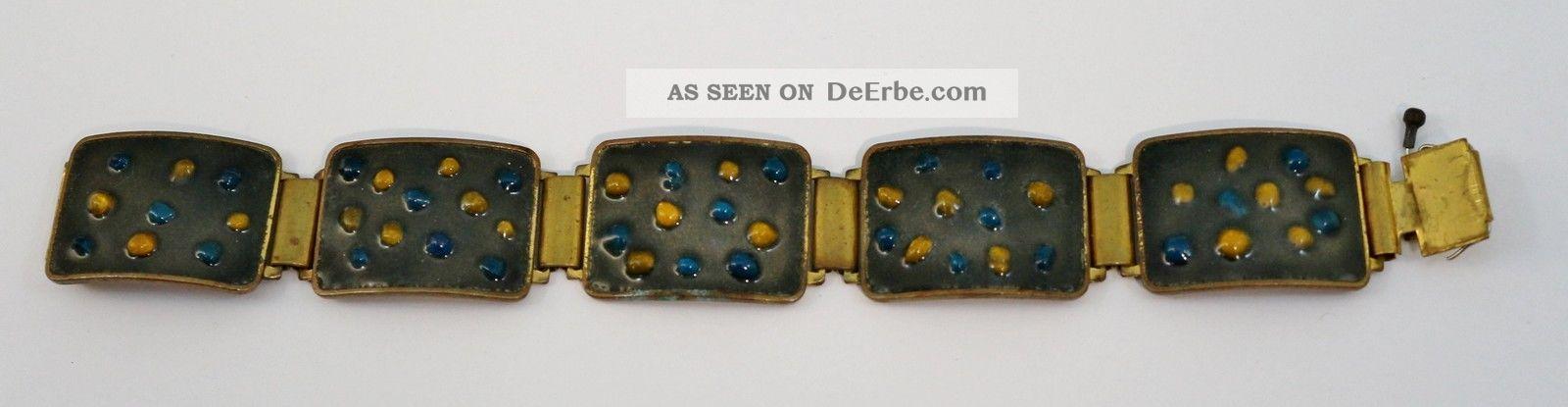 Wilhelm Leyser Armband Emailliert,  Bracelet Enamel 1960-1969 Bild