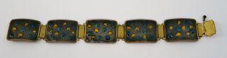 Wilhelm Leyser Armband Emailliert,  Bracelet Enamel Bild