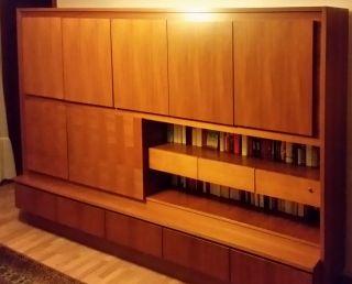 Wohnzimmerschrank Sehr Robust Spte 60er Oder Frhe 70er Jahre Bild