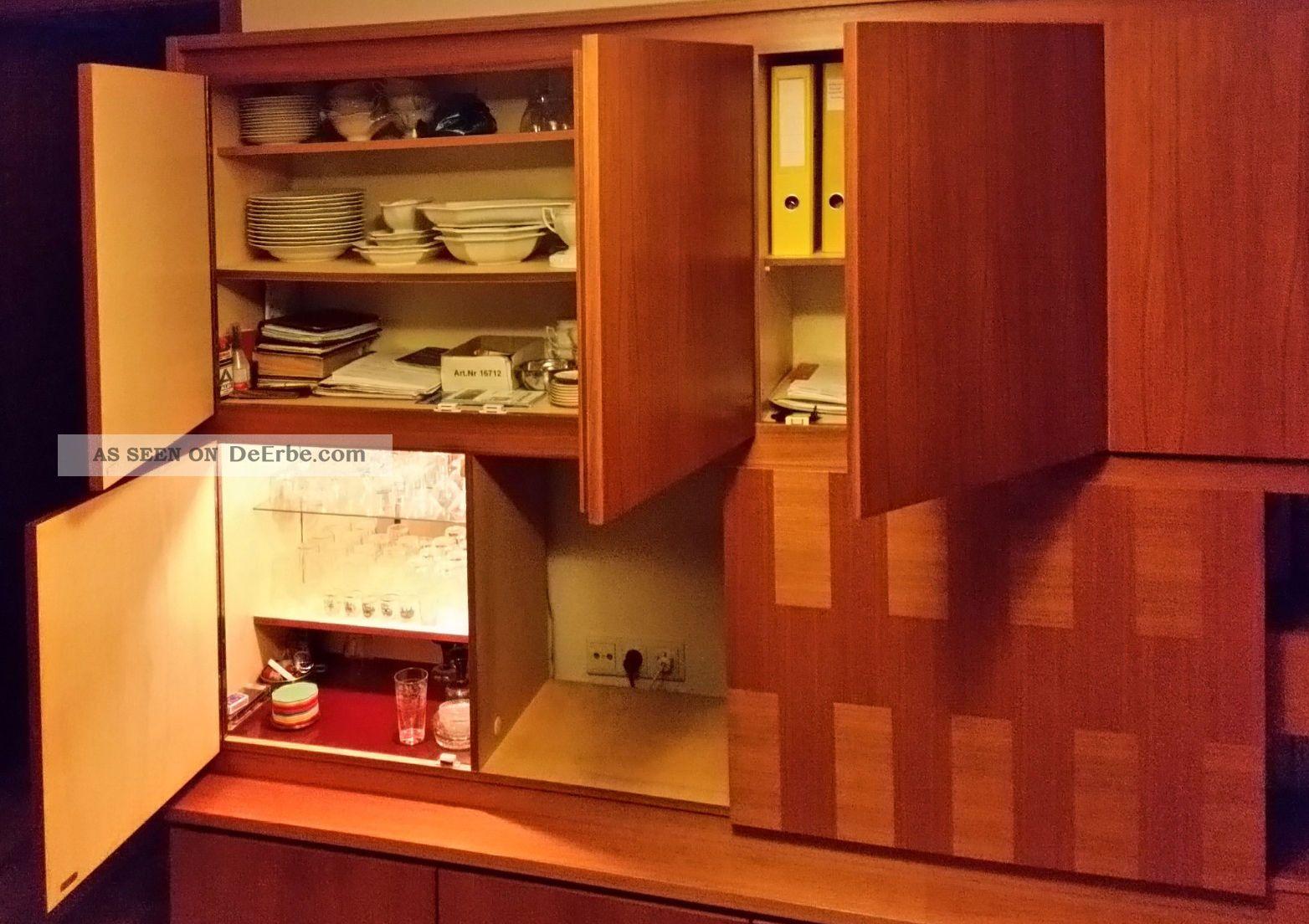 Wohnzimmerschrank Sehr Robust Spte 60er Oder Frhe 70er Jahre