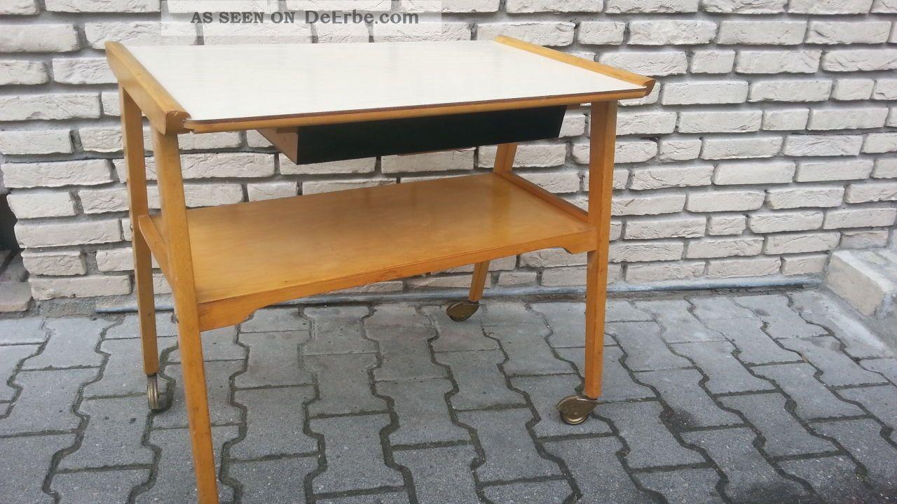 50er midcentury ablagetisch beistelltisch auf. Black Bedroom Furniture Sets. Home Design Ideas