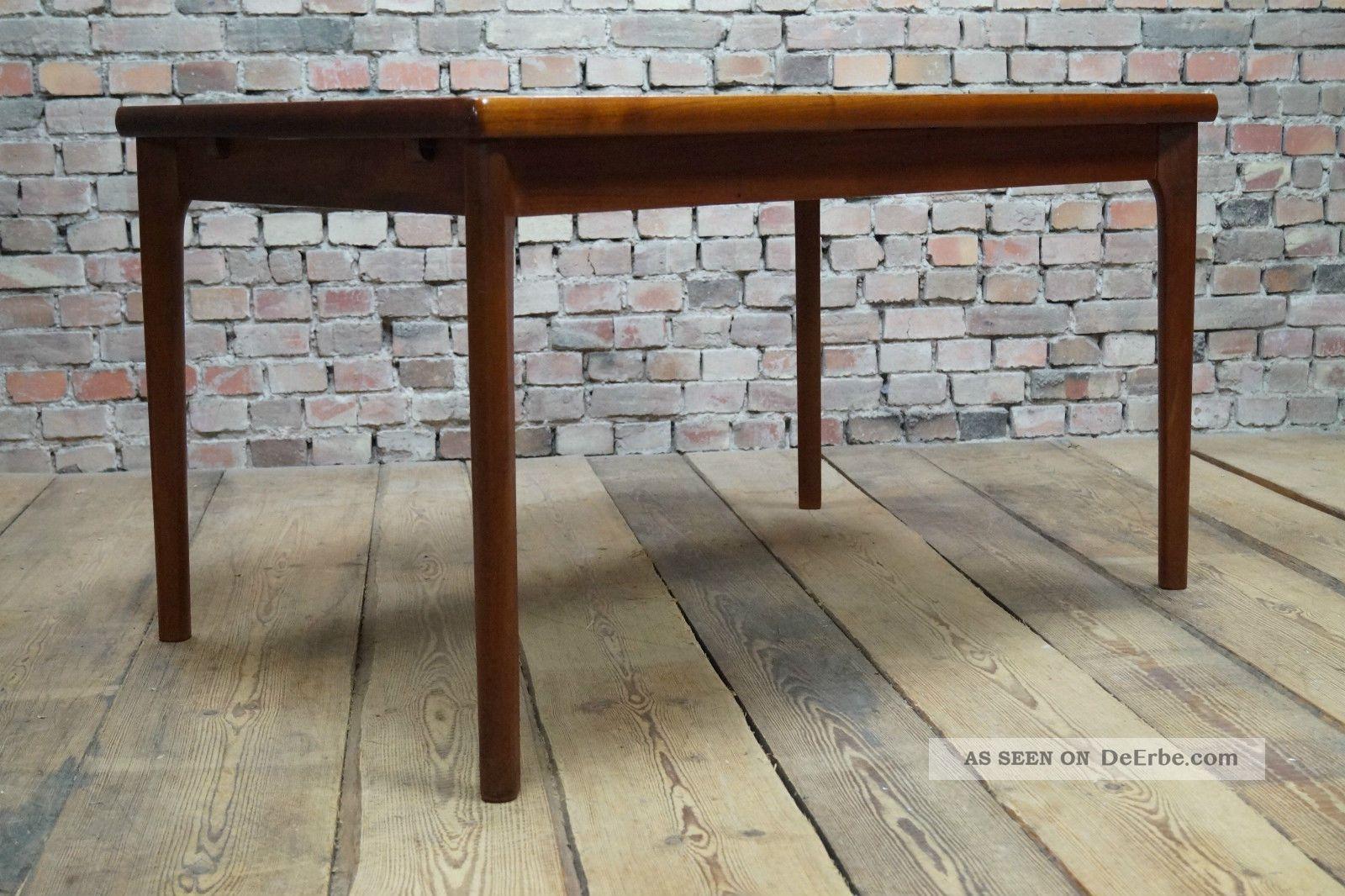 danish modern teak esstisch tisch dining table denmark vejle stole vintage 60s. Black Bedroom Furniture Sets. Home Design Ideas