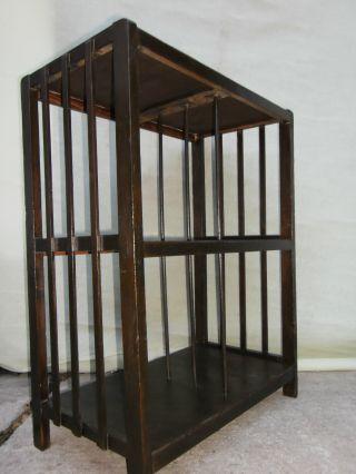 Regal Aktenregal Etagere Bücherregal Standregal Büroregal 3 Ebenen Art Deco Bild