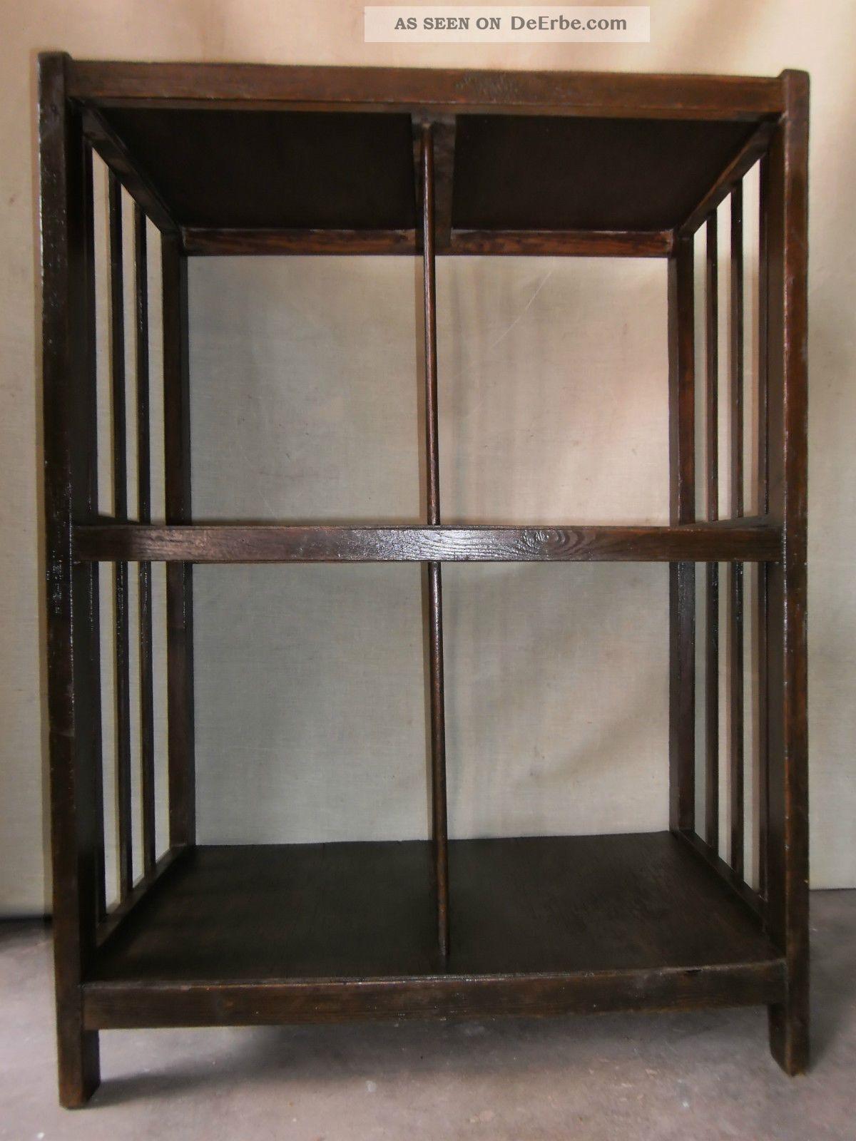 regal aktenregal etagere b cherregal standregal b roregal 3 ebenen art deco. Black Bedroom Furniture Sets. Home Design Ideas