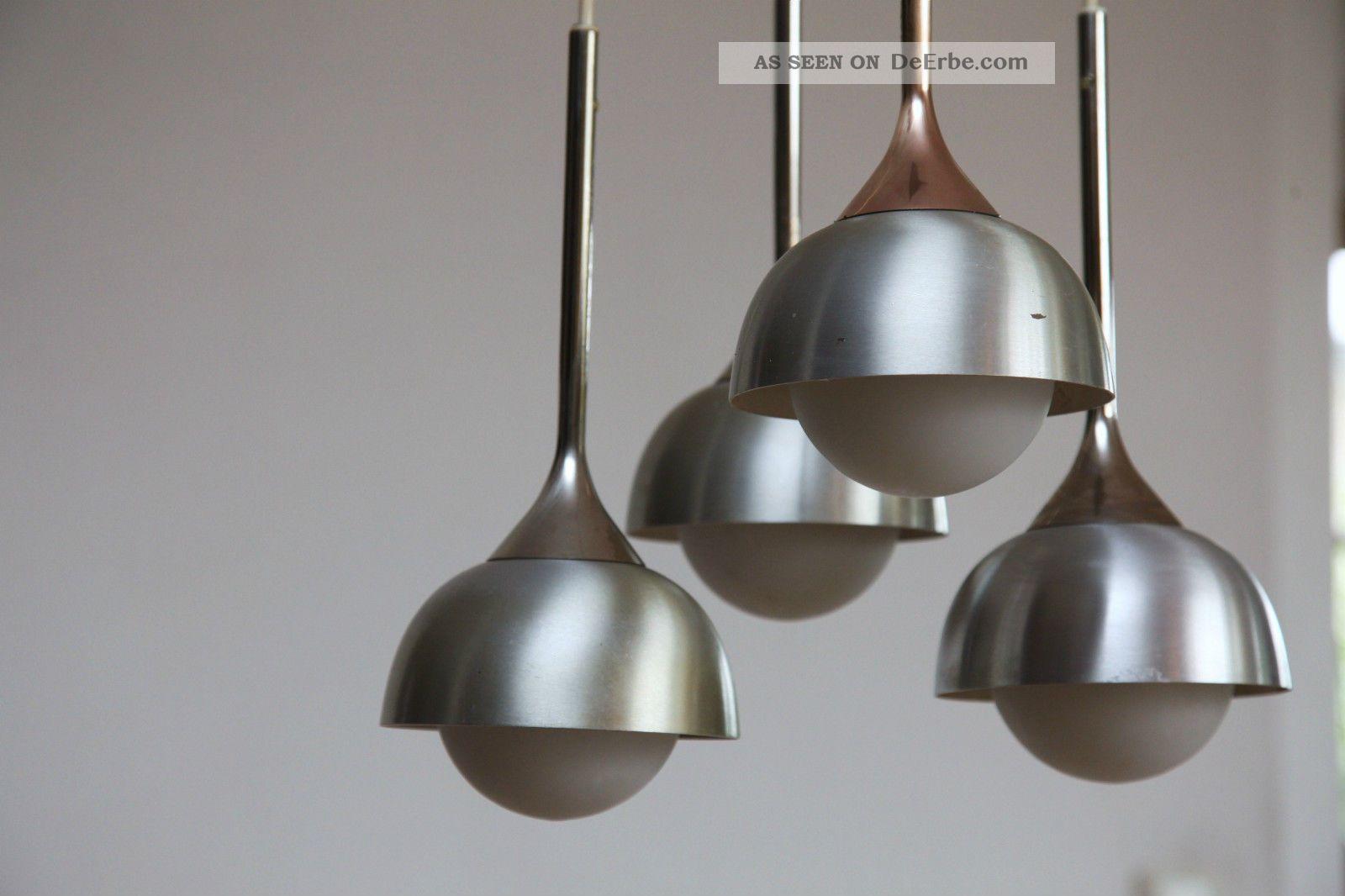 60er 70er 60s kaskaden lampe von staff lamp chrom panton for Eames lampe