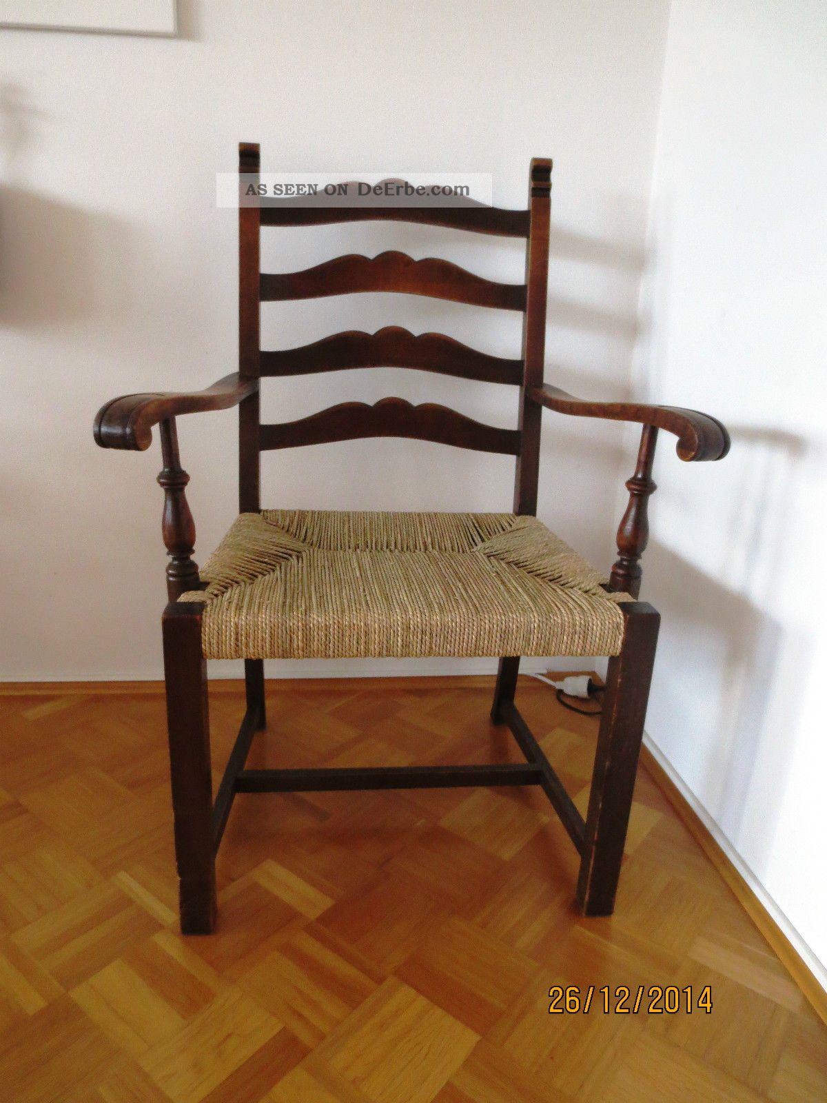 Antiker worpsweder stuhl armlehnenstuhl vermutl 1920 for Stuhl design epochen