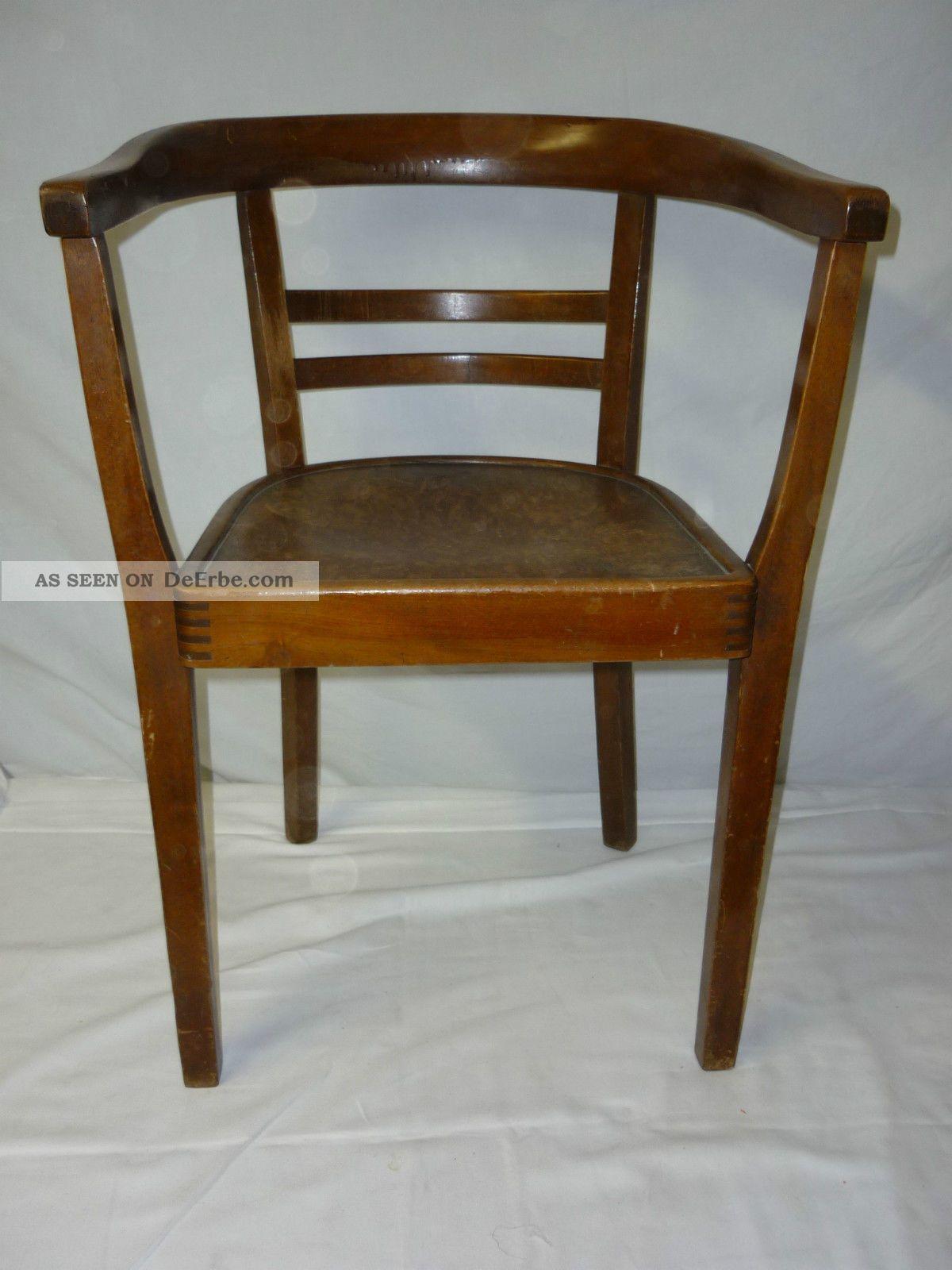 Armlehnstuhl bauhaus art deco gropius bugholz stuhl for Armlehnstuhl plastik