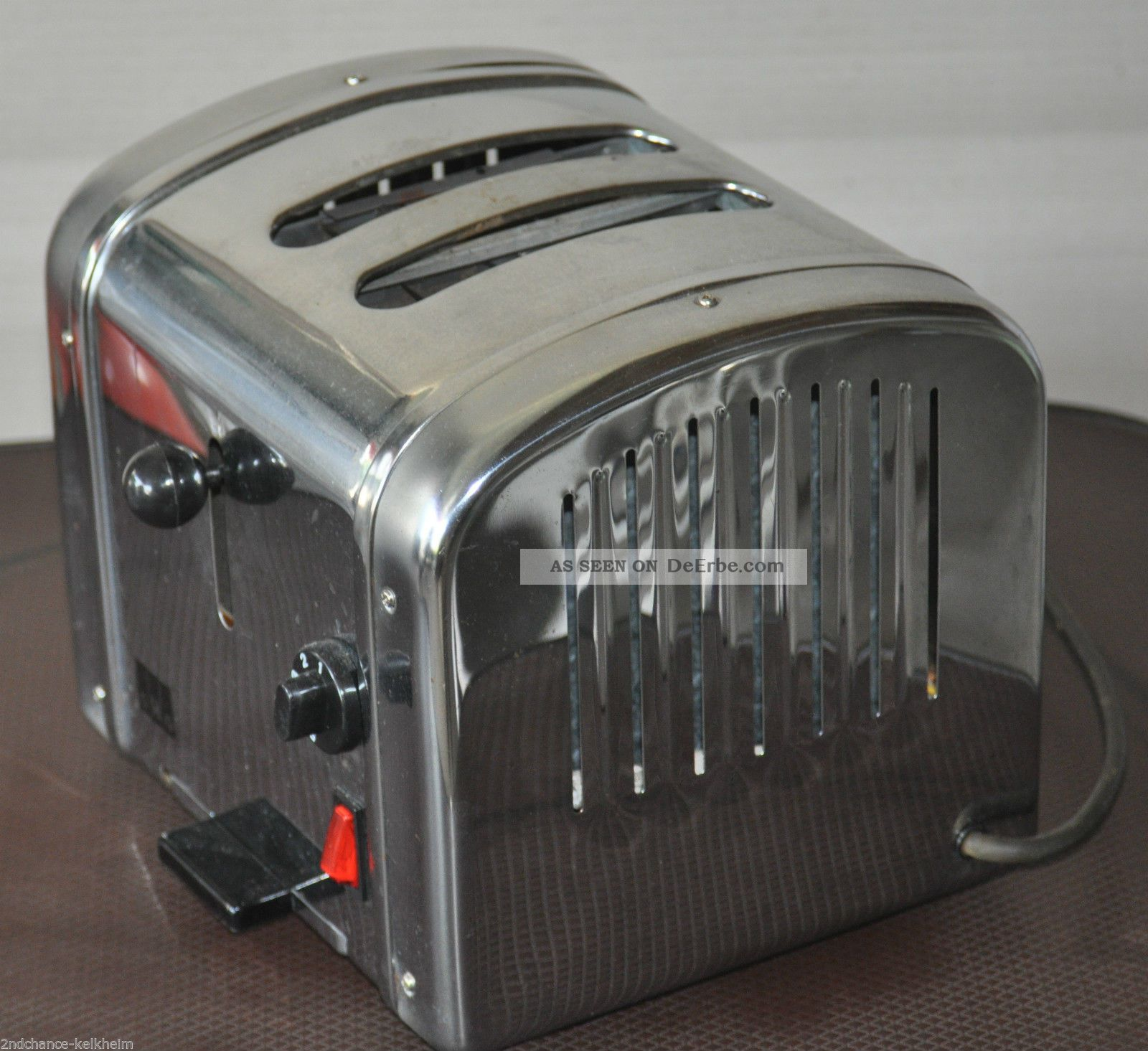 retro chrom toaster shg ta590 bully toaster fifties optik. Black Bedroom Furniture Sets. Home Design Ideas