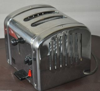 Retro Chrom - Toaster Shg Ta590 Bully - Toaster Fifties - Optik Bild