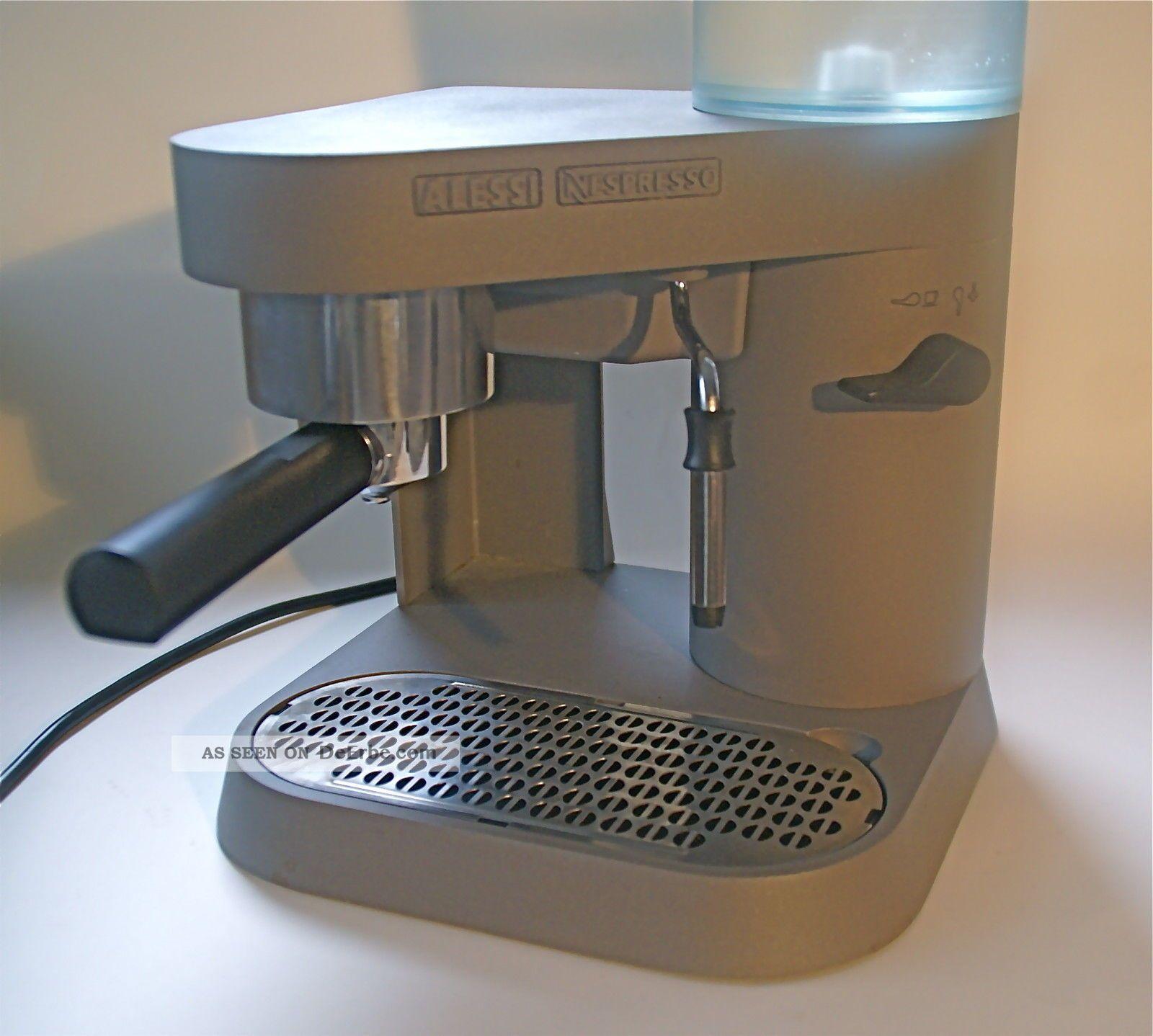alessi nespresso espressomaschine type coban rs05 anthrazit. Black Bedroom Furniture Sets. Home Design Ideas