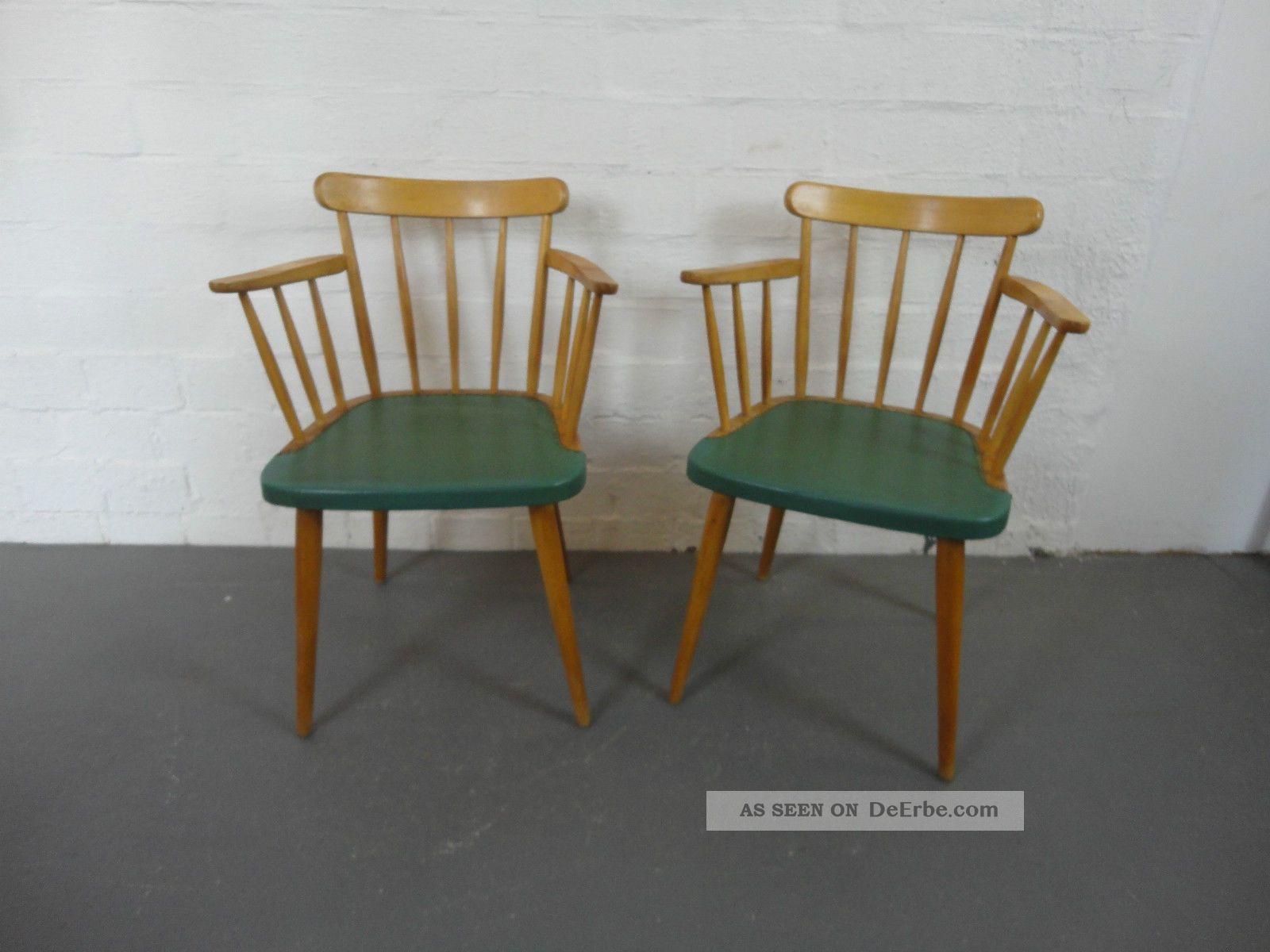 2x armlehnenstuhl stuhl armchair design entwurf 50er 50 s for Stuhl design epochen