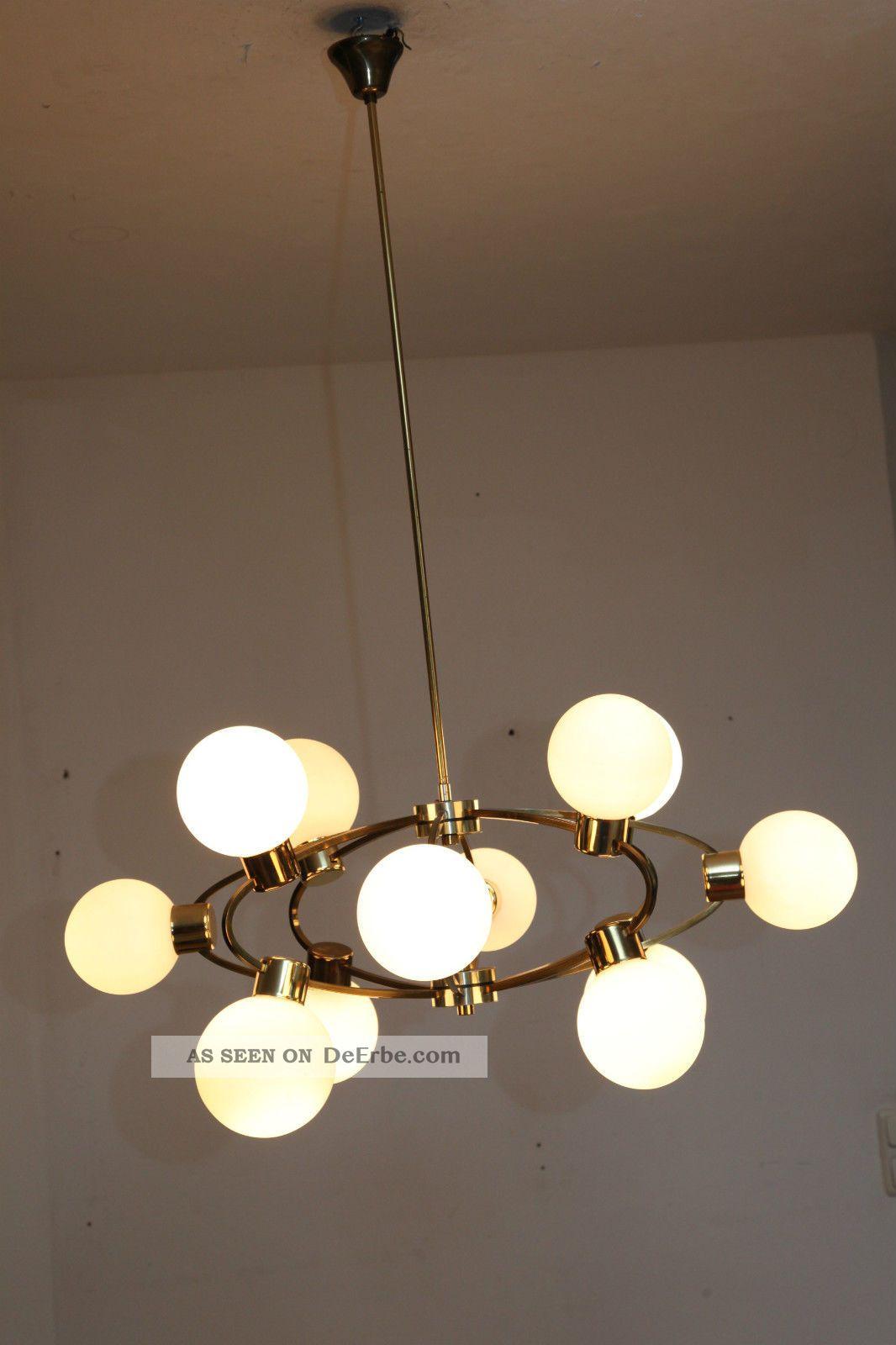 60er 70er 60s Sputnik Lampe Lamp Panton Eames Ra