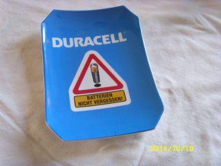 Vintage Batterie Duracell Zahlteller Acryl Bild