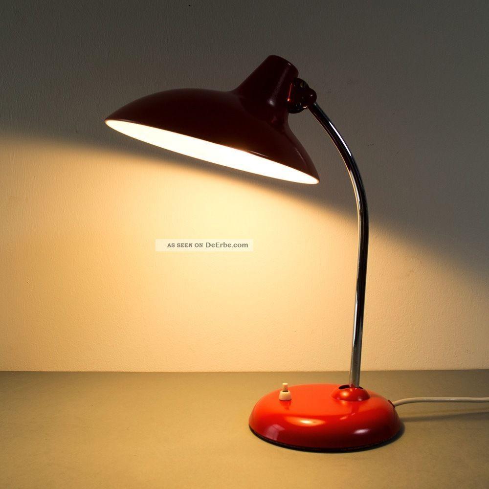seltene kaiser idell lampe tisch bauhaus modell 6786 christian dell 50er. Black Bedroom Furniture Sets. Home Design Ideas