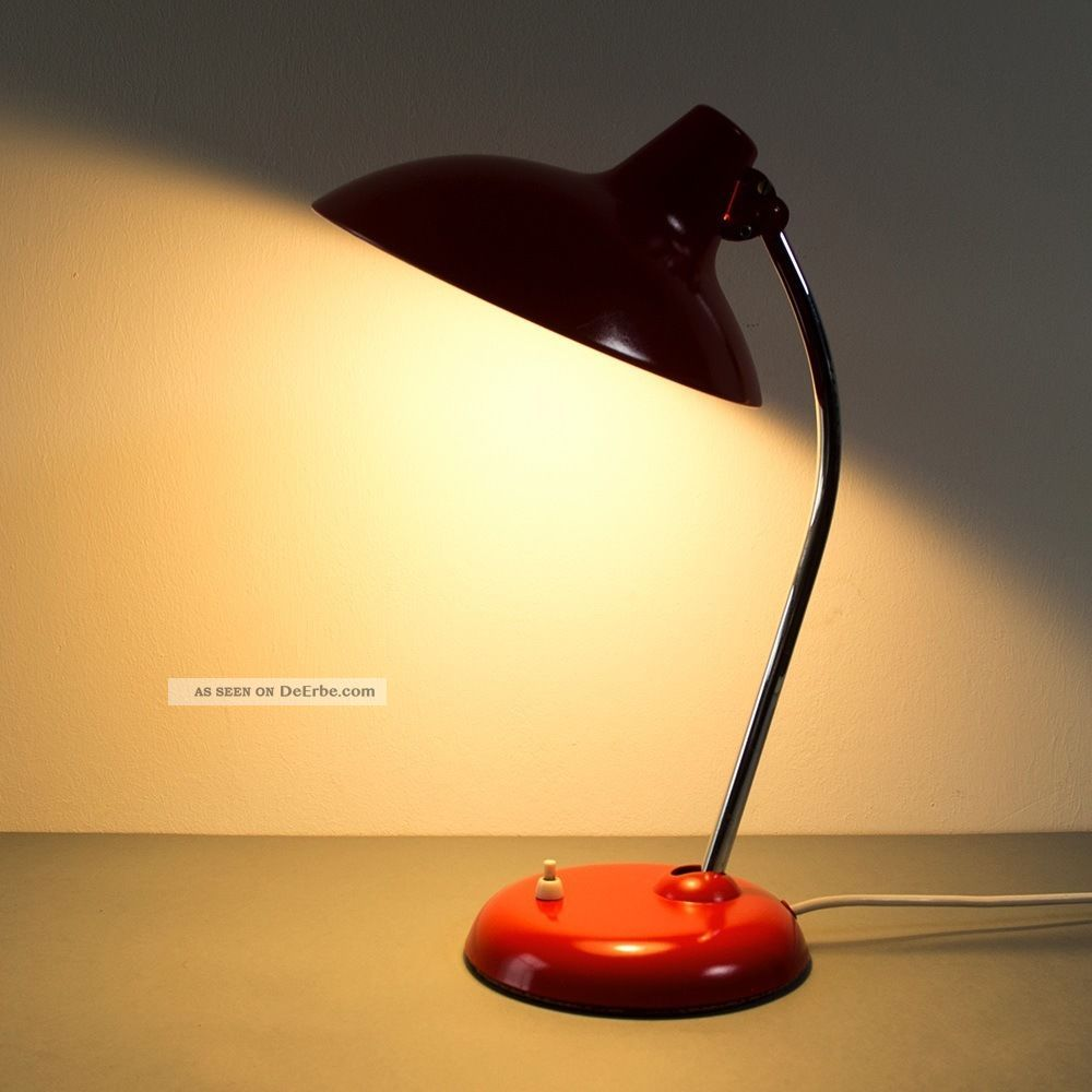 seltene kaiser idell lampe tisch bauhaus modell 6786. Black Bedroom Furniture Sets. Home Design Ideas