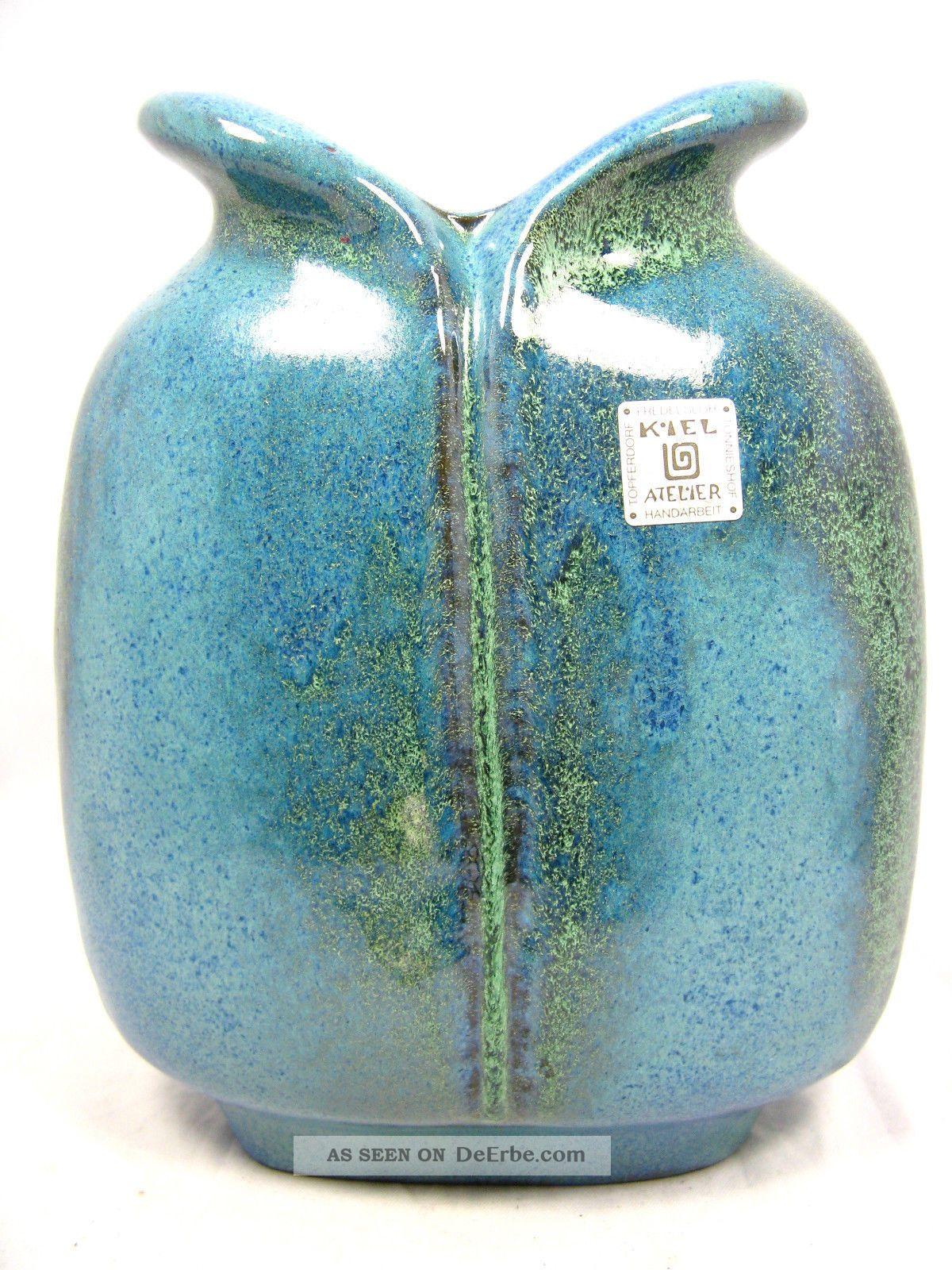 Keramik Bemalen Kiel : seltene carstens keramik vase kiel atelier gemeinschaft t nnieshof 20 cm ~ Eleganceandgraceweddings.com Haus und Dekorationen