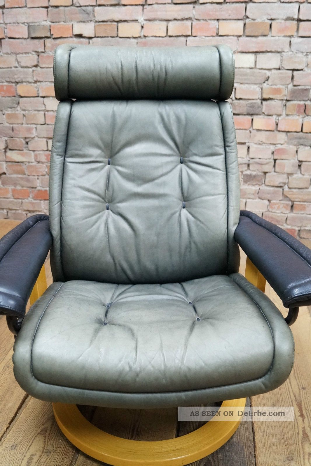 ekornes stressless leder relax sessel ottoman hocker tv easy chair ledersessel. Black Bedroom Furniture Sets. Home Design Ideas