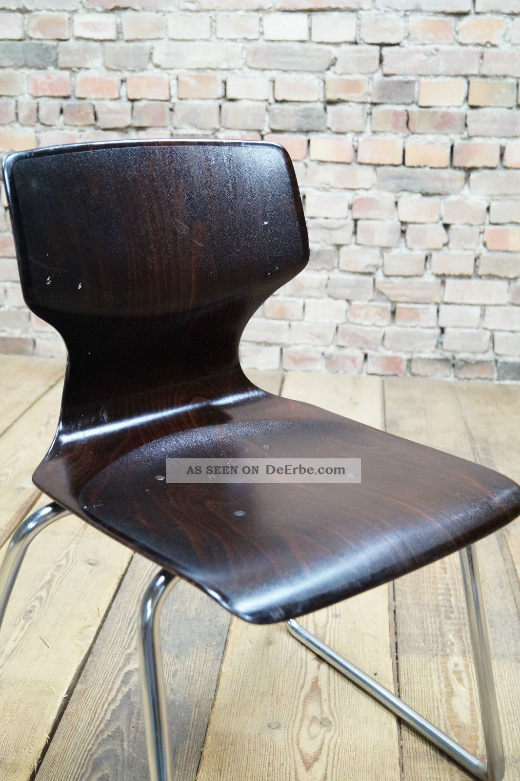 70er fl totto pagholz stuhl chrom pagwood eames panton ra 2. Black Bedroom Furniture Sets. Home Design Ideas