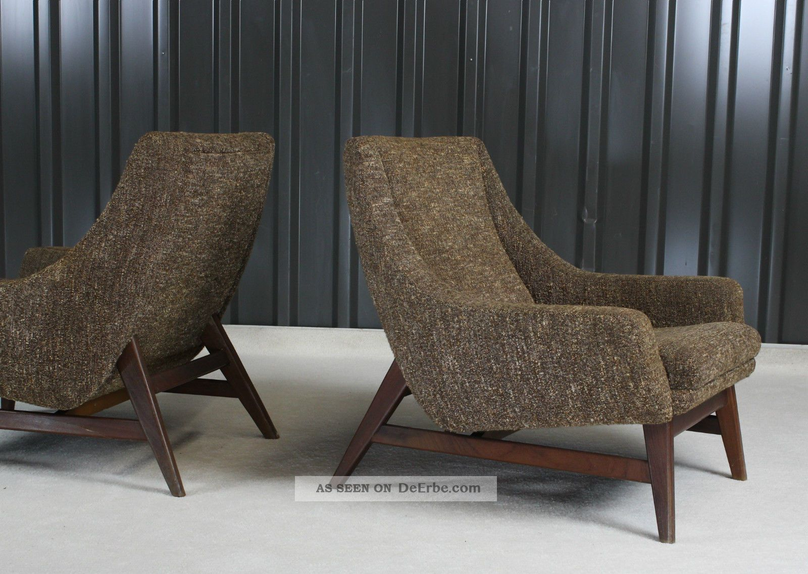 4 x mid century modern tripod chair rockabilly dreibein st hle 50er jahre. Black Bedroom Furniture Sets. Home Design Ideas