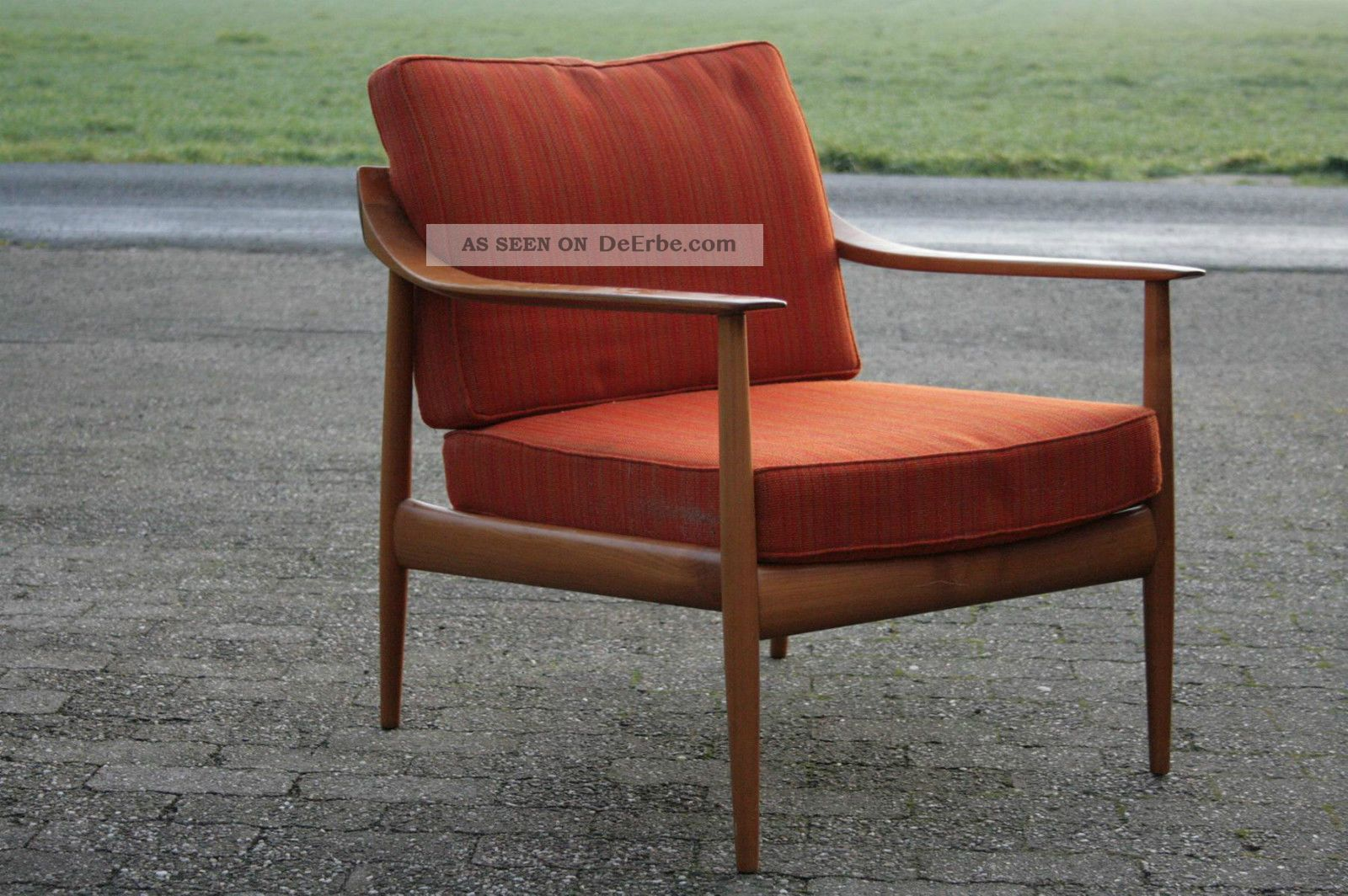 Knoll antimott sessel chair 50er 60er jahre mid century for Sessel 60er jahre stil
