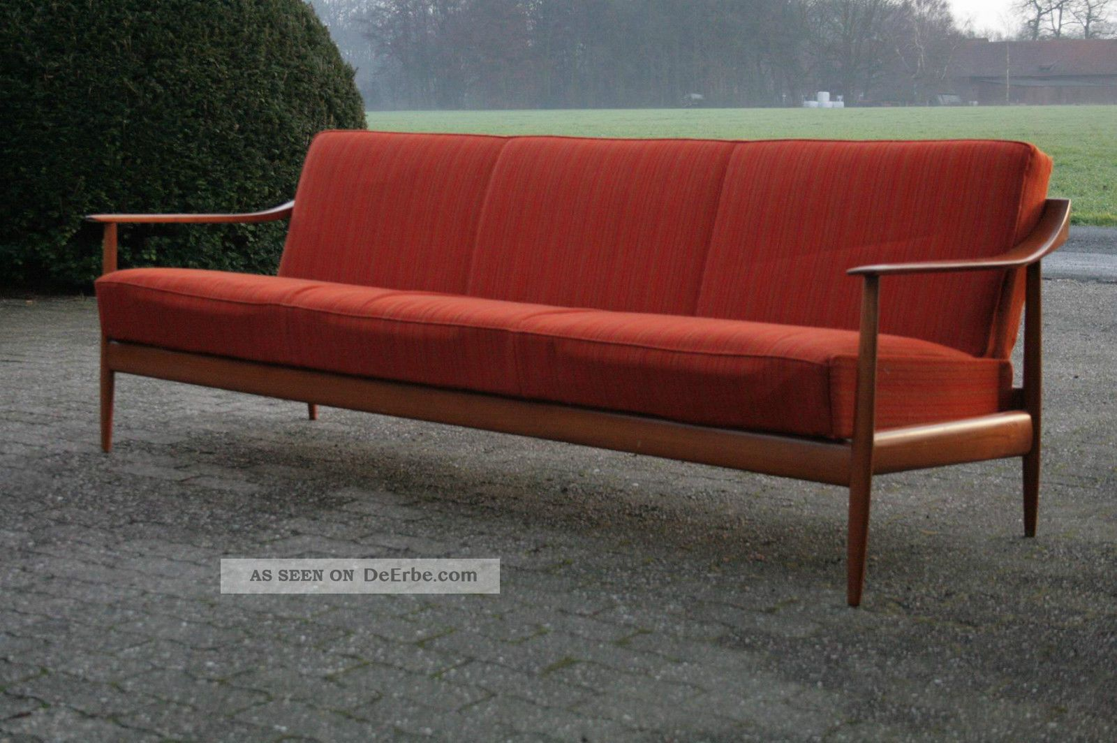knoll antimott sofa daybed 50er 60er jahre mid century. Black Bedroom Furniture Sets. Home Design Ideas