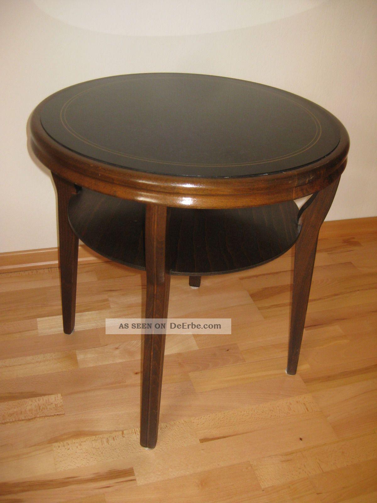 runder tisch rauchtisch beistelltisch ilse m bel 50er jahre. Black Bedroom Furniture Sets. Home Design Ideas