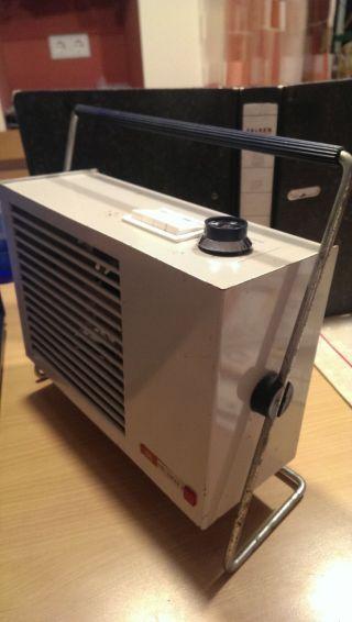 Heizlüfter Ismet Hl 120 T Aus Den 60er Jahren Mit Thermostat - Funktioniert Auch Bild