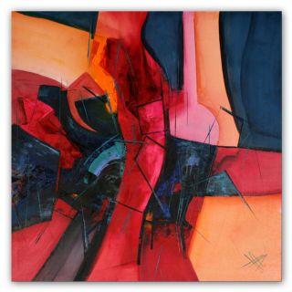 Unikat Moderne Kunst Malerei Bunt Abstrakt Öl Leinwand Xxl Bild Bozena Ossowski Bild