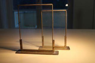 Art Deco Glasrahmen 10 X 16 Cm Bild