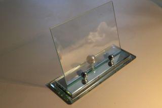 Art Deco Glasrahmen 13 X 18 Cm Bild