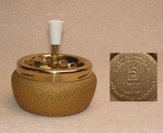 Alter Aschenbecher,  Schleuderaschenbecher,  Roulette - Ashtray,  Vintage Bild