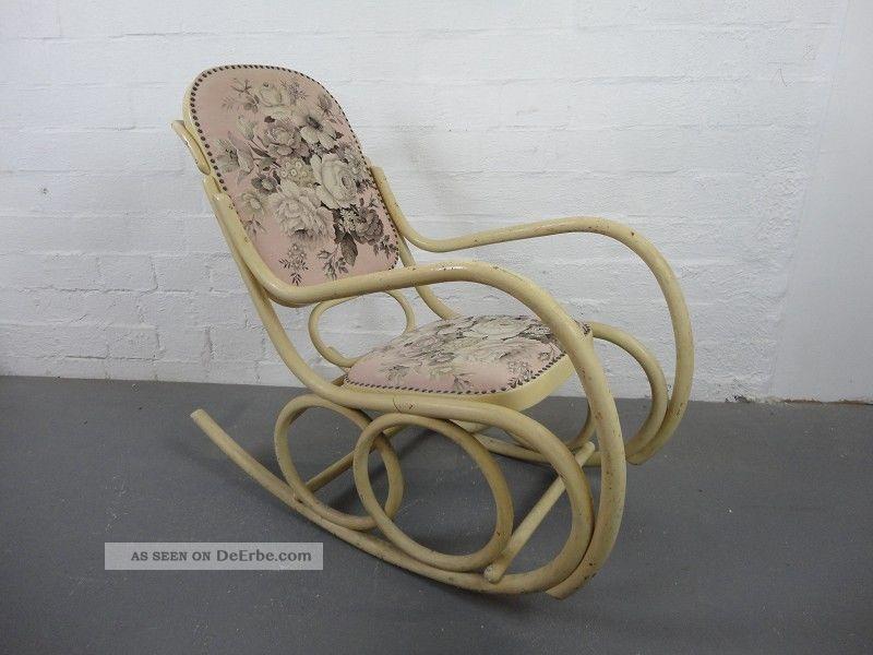 Thonet schaukelstuhl shabby rocking chair gr nderzeit for Schaukelstuhl jugendstil
