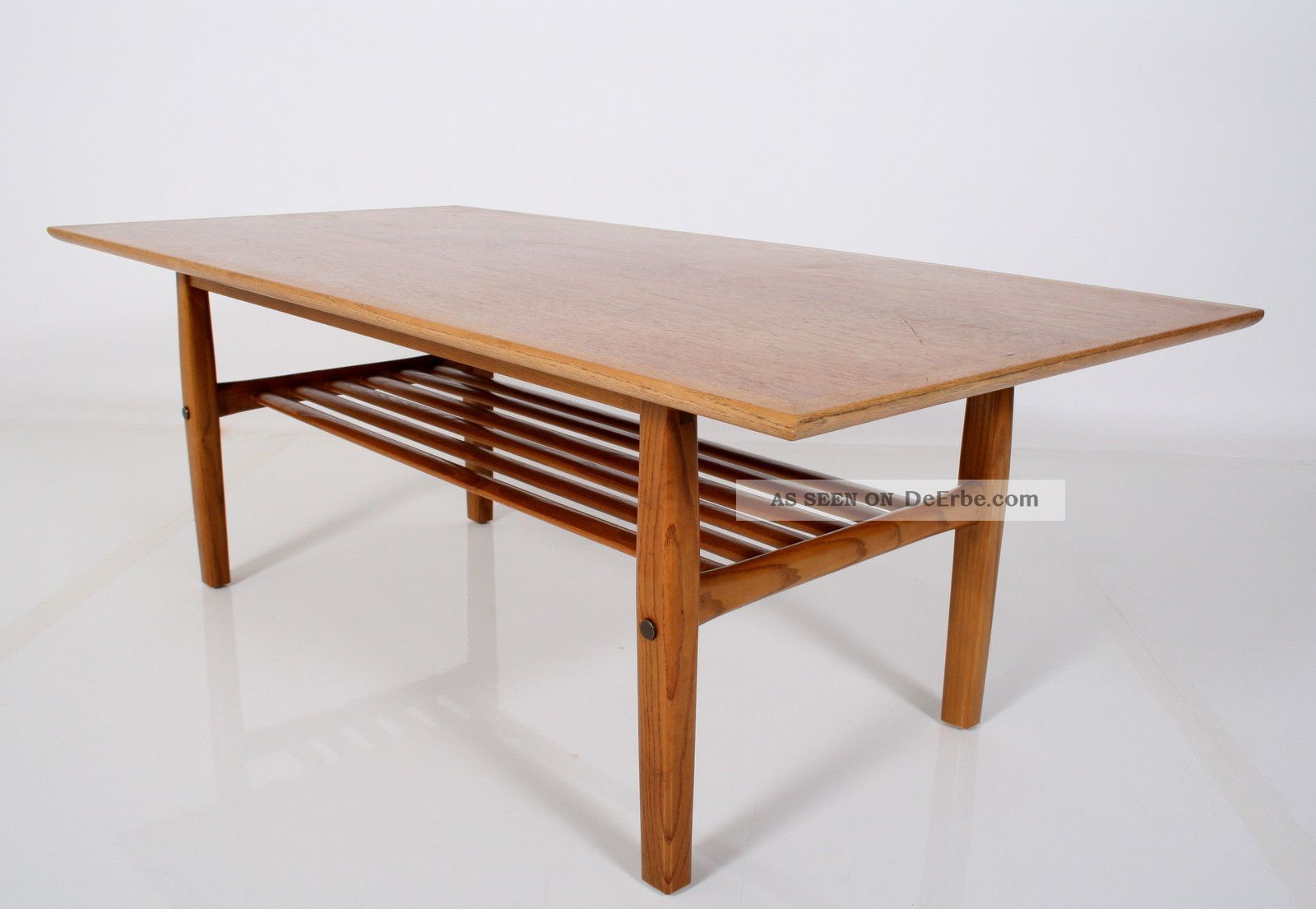 teak 60er coffee table danish design couchtisch tisch table 60s a 60 tavolo. Black Bedroom Furniture Sets. Home Design Ideas