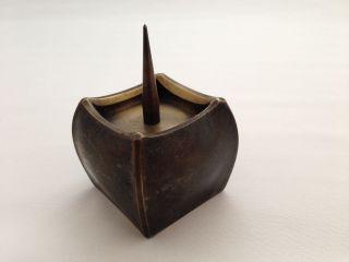 Bronze Kunst Kerzenhalter,  Geschmiedet In Kunstschmiede Bergmeister Ebersberg Bild