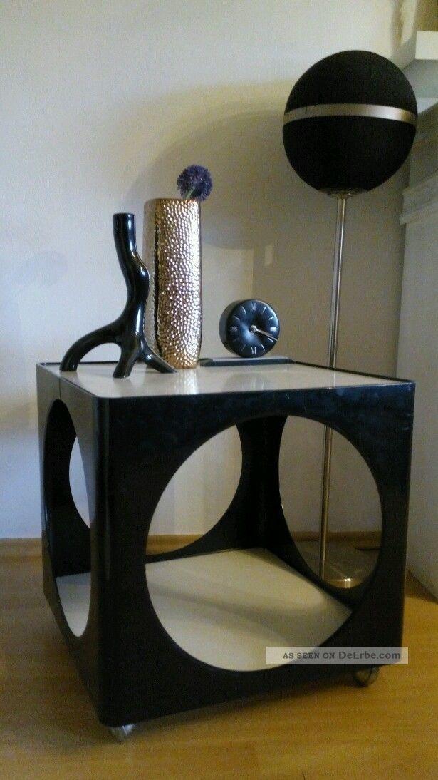 70er panton eames tisch beistelltisch lampentisch opal for Eames tisch nachbau