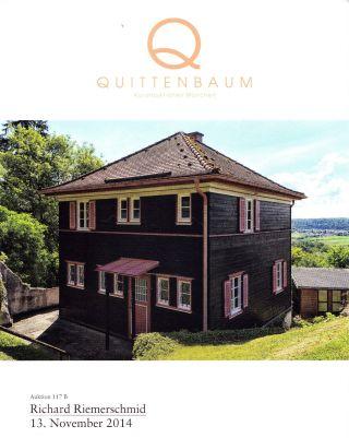 Design Richard Riemerschmid: Katalog Quittenbaum Nov.  14 Bild
