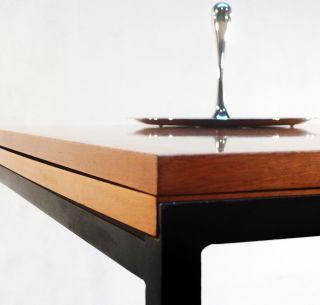 Folding Dining Table H.  Riehl / Wilhelm Renz 60er Esstisch Tisch T - Angle Knoll Bild