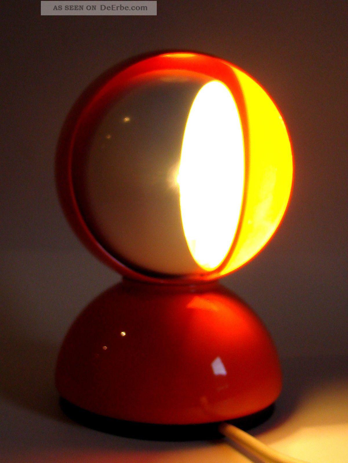 artemide eclisse lampe leuchte orange designklassiker vico. Black Bedroom Furniture Sets. Home Design Ideas