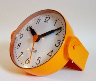"Wanduhr ""die Hausuhr"" Orange Designklassiker Space Age Panton 70er Top & Rare Bild"