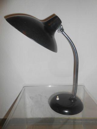 Kaiser Idell Lampe 6786 Bauhaus Schreibtischlampe 50er 60er Schwarz Bild