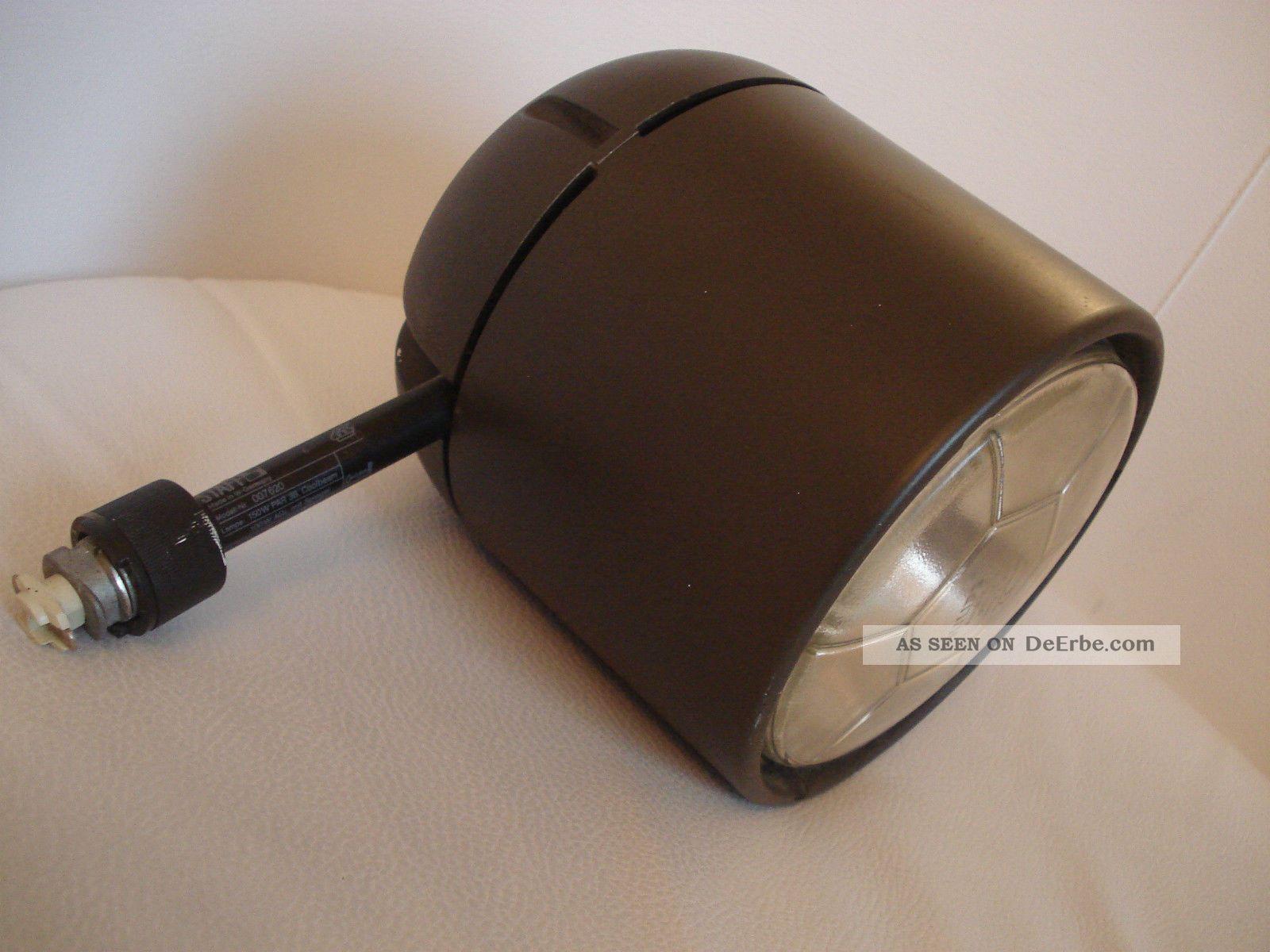 70er true vintage staff strahler f r schiene braun modell 007620. Black Bedroom Furniture Sets. Home Design Ideas