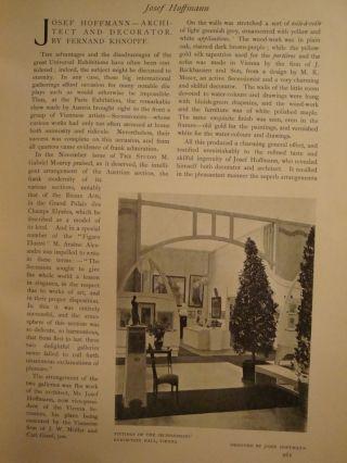 1901 The Studio Nr.  95 - 102/1901 Gebunden Steinlen Hoffmann Wiener Werkstätte Bild