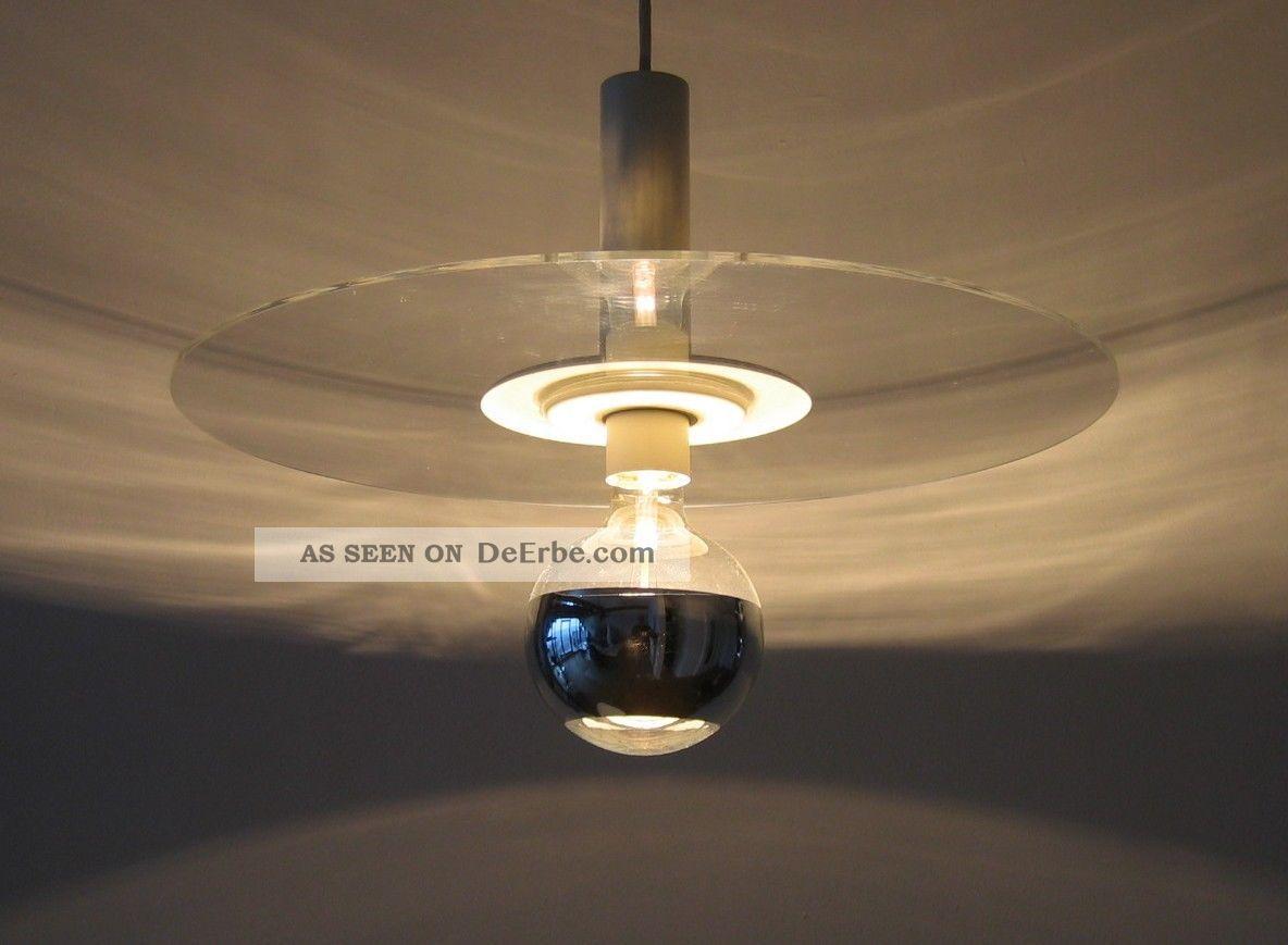 Minimalism 70er beisl leuchte mid century space age ufo for Lampen 70er style