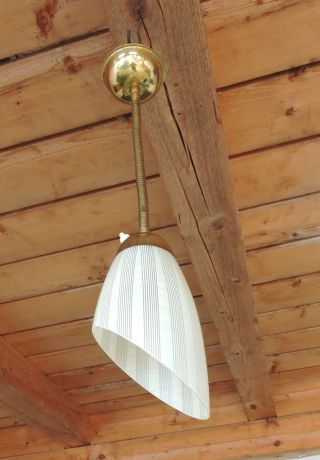 Alt 50iger Deckenlampe Lampe Flexstange Rockabilly Bild