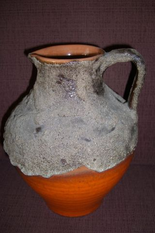 Fat Lava Krug Jug West Germany Mod.  Nr.  3046 (roth ? Schlossberg ?) Bild