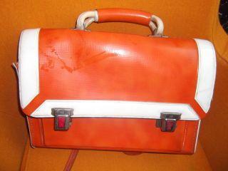 Ranzen Schulranzen Tasche Rucksack Orange 70 Er Jahre Ivili Bild