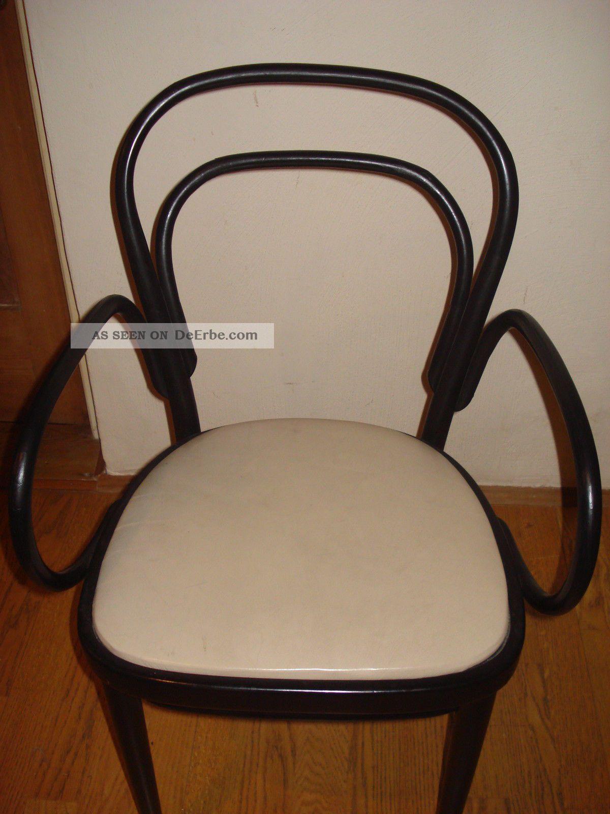 thonet 214 f klassiker einzelst ck stuhl sesselrahmen schwarz sitz leder latte. Black Bedroom Furniture Sets. Home Design Ideas